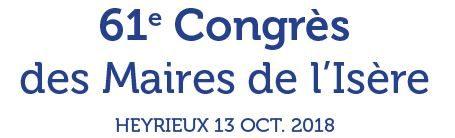 Congrès des Maires de l'Isère : J-3 !