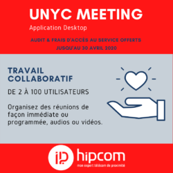 [INFOGRAPHIE] Unyc Meeting : solution de visioconférence & travail collaboratif à distance