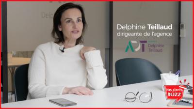 [VIDÉO] NOS CLIENTS ONT LE BUZZ #3 : DELPHINE TEILLAUD DE L'AGENCE IMMO DELPHINE TEILLAUD